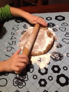frollini con farina di riso- spianatoia