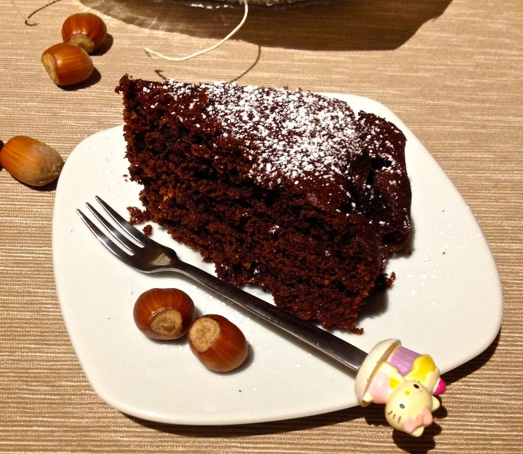 torta cacao e nocciole