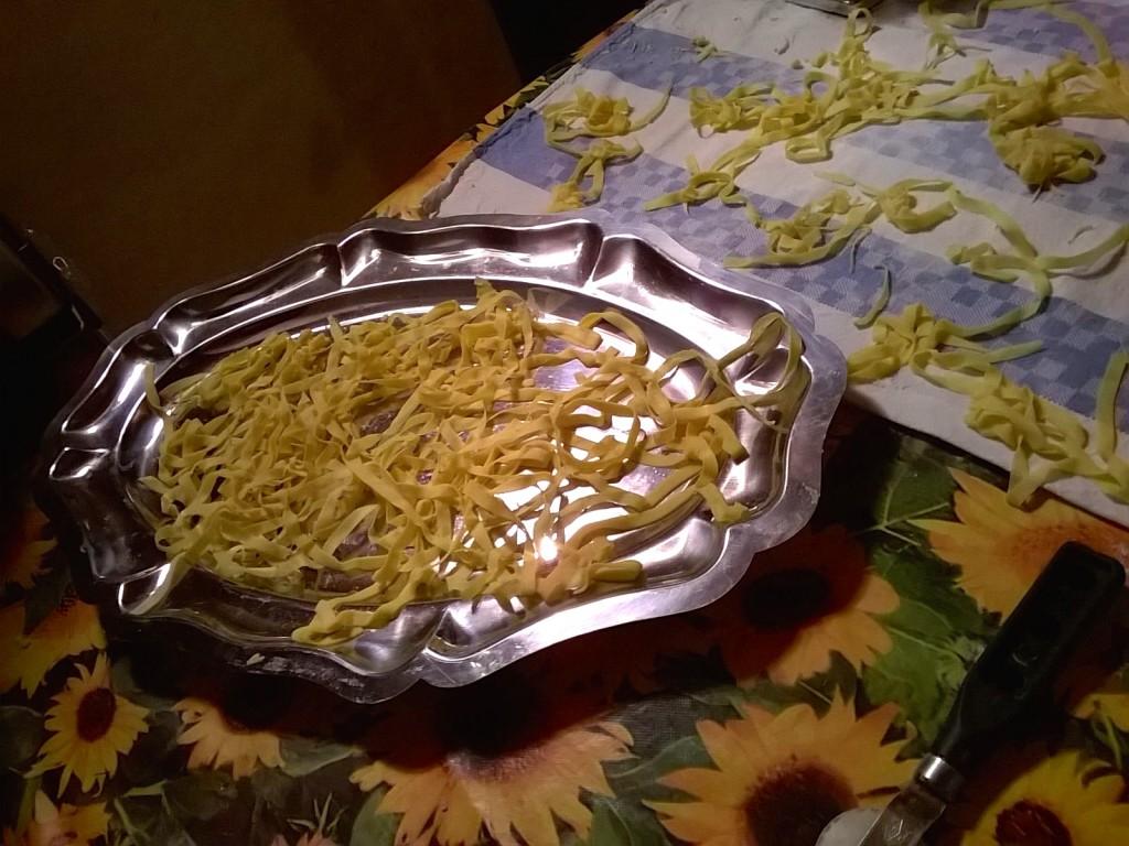 tagliatelle al pesto di broccoli-versione white