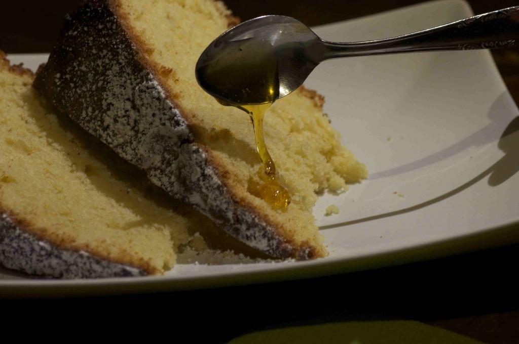 torta soffice di limone e zenzero