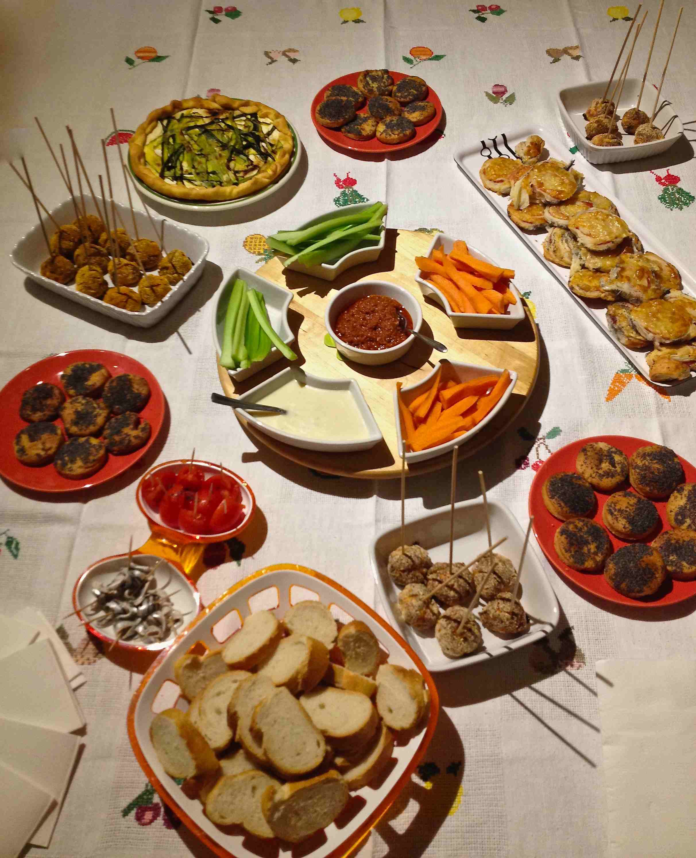 Conosciuto Organizzare un buffet (ed uscirne vivi) - Mamme in Cucina e Dintorni JD87