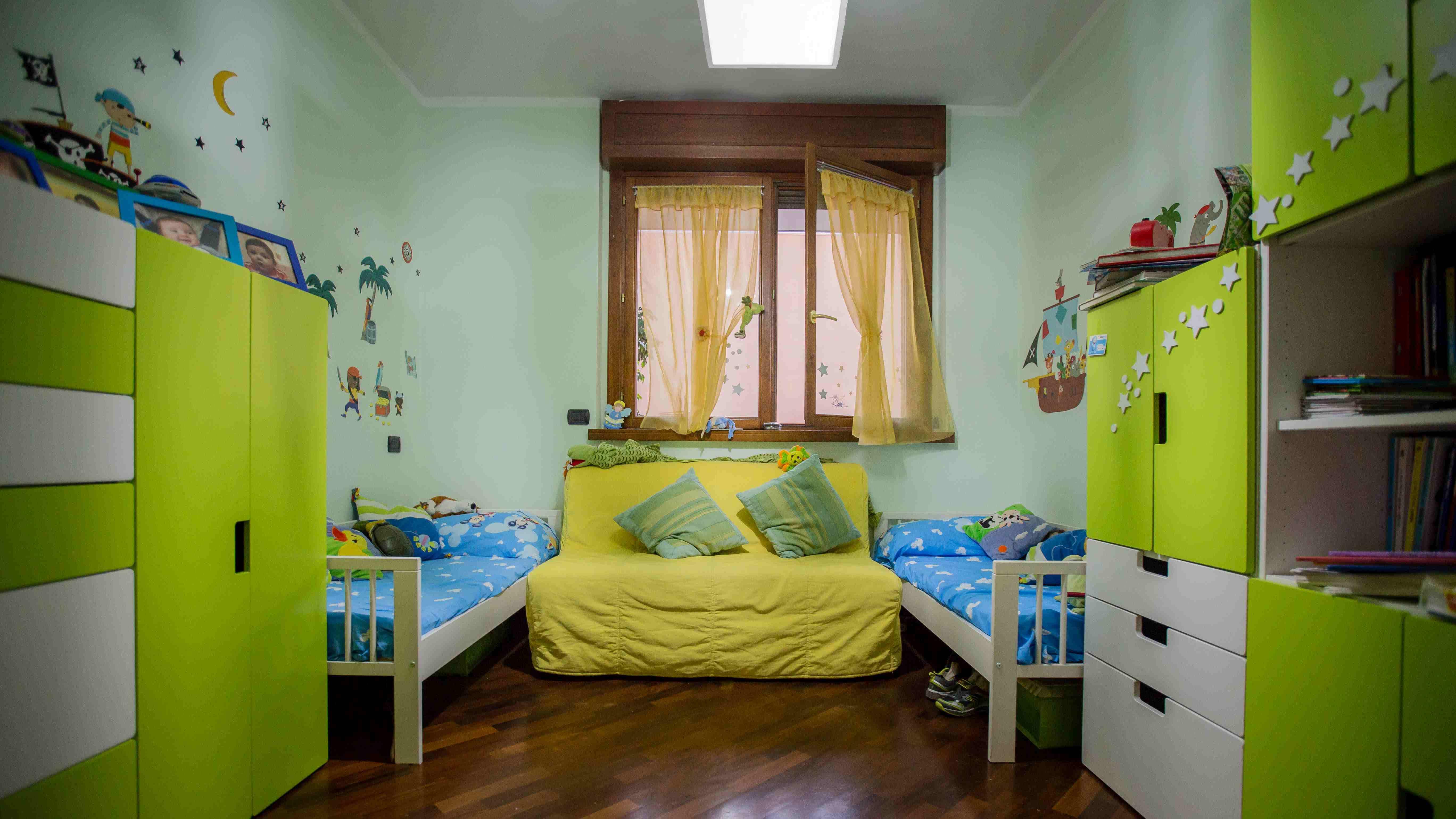 Latest osservare idee di x della cameretta come scegliere quella giusta b with colori muri - Decorazioni muri camerette bambini ...