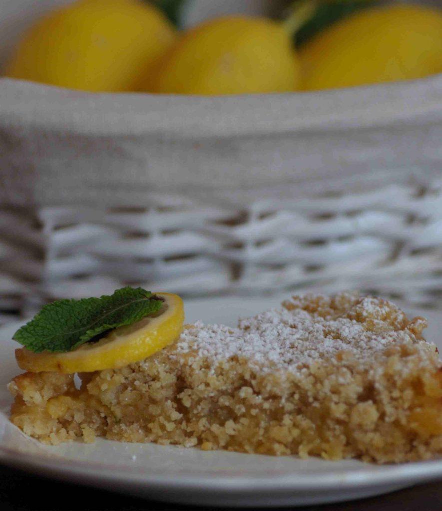 sbriciolata alla crema di limone