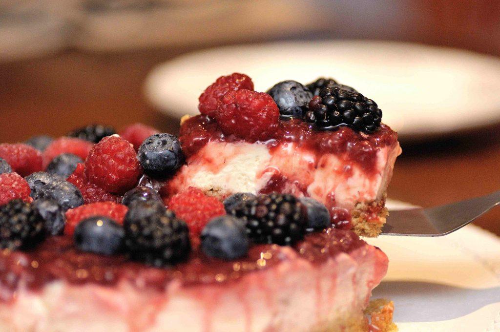 cheesecake freddo senza colla di pesce