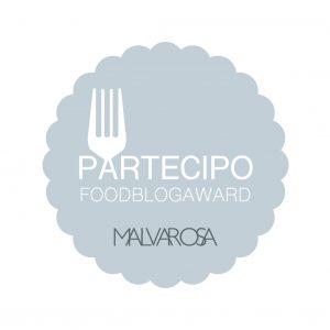 Partecipo ai Food Blog Award 2016