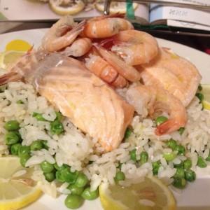 ricette detox tris di riso