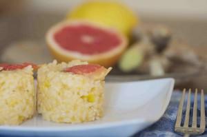 ricette detox risotto pompelmo rosa