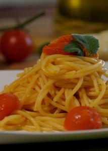 spaghetti al pomodoro pachino