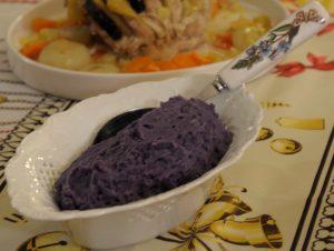 purè patate viola