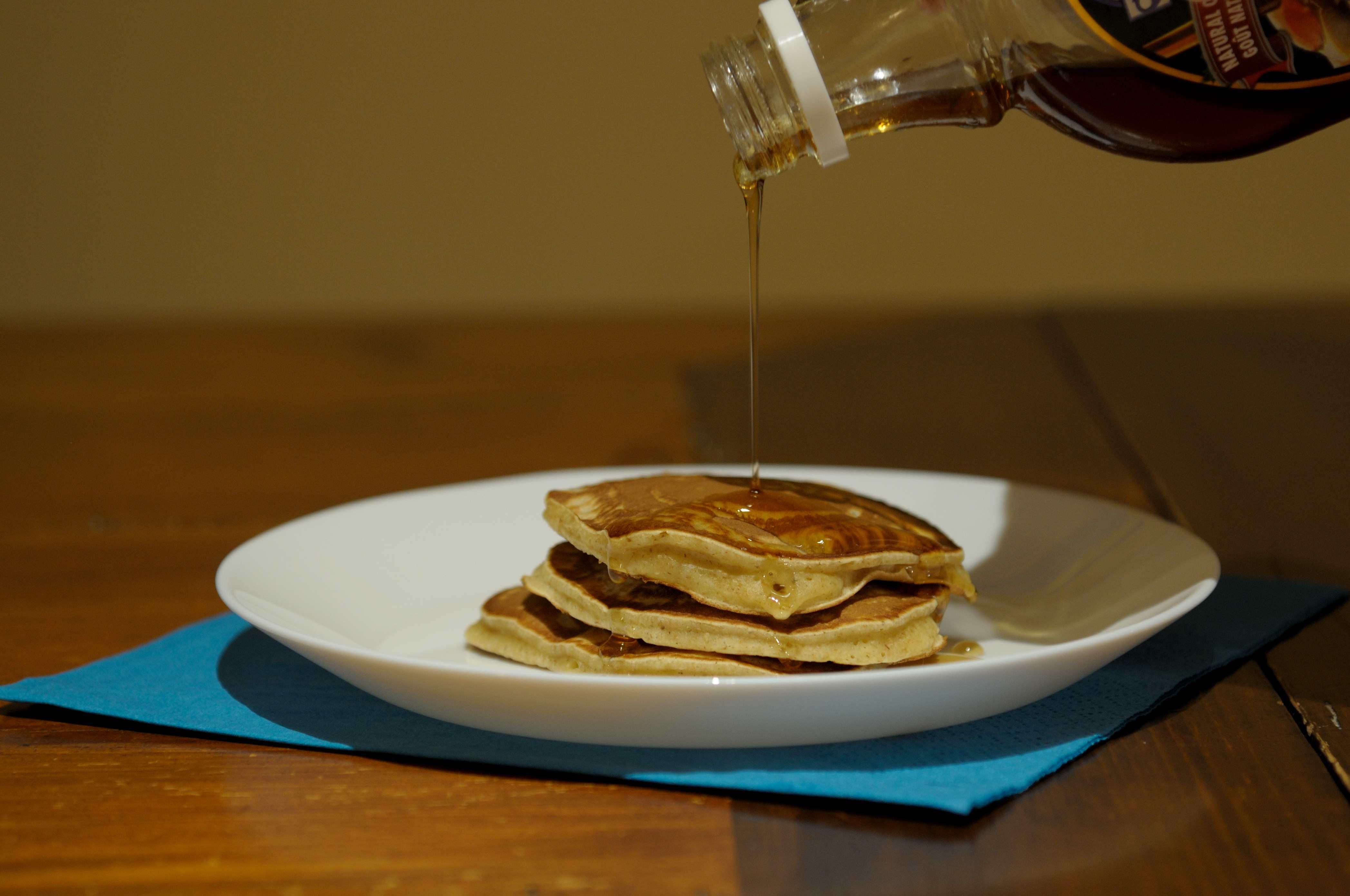 pancake in bottiglia